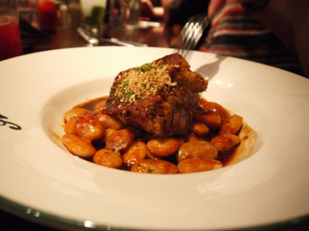 pork and beans at all star lanes bayswater