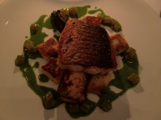 sea bass at pattersons