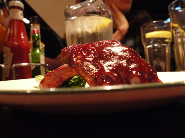 short rack of ribs at all star lanes bayswater