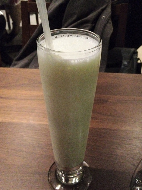 sweetened lassi at cinnamon soho