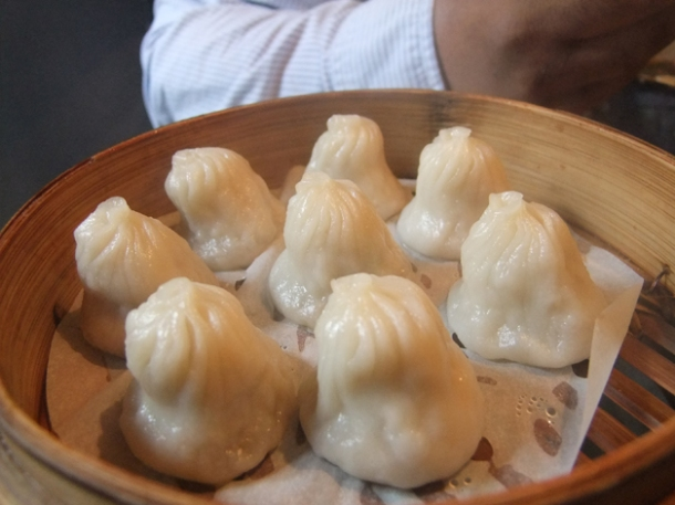 xiao long bao soup dumplings at leong's legends continue