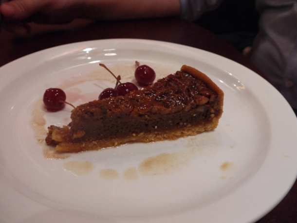 pecan pie at low country fulham
