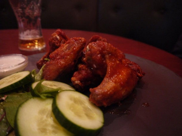 voodoo chicken wings at low country london