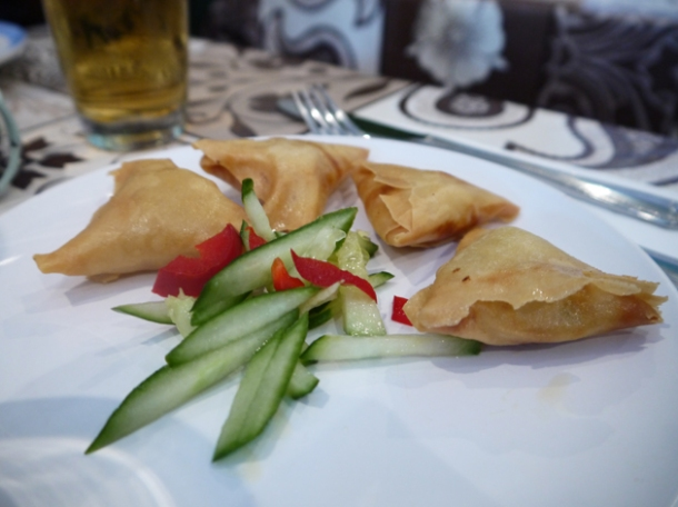 burmese samosas at mandalay