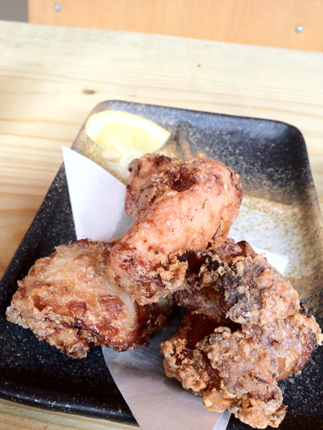 chicken karaage at tonkotsu soho