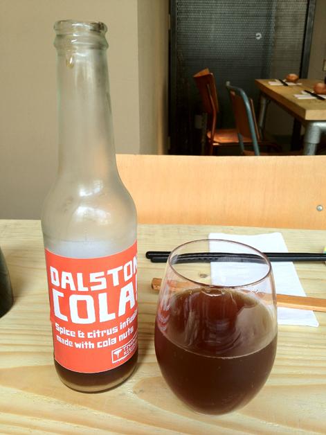 dalston cola at tonkotsu dean street