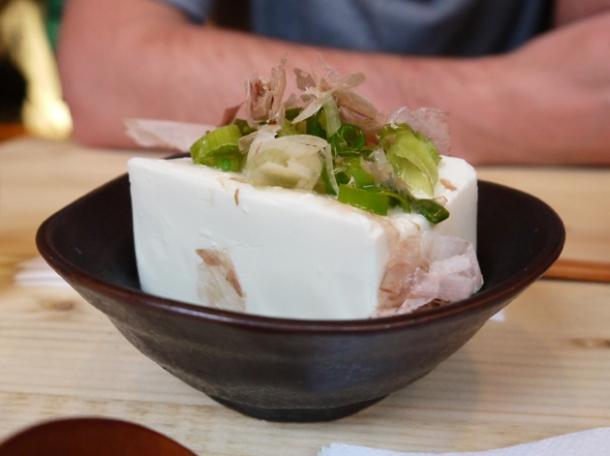 hiya yakko tofu at tonkotsu soho
