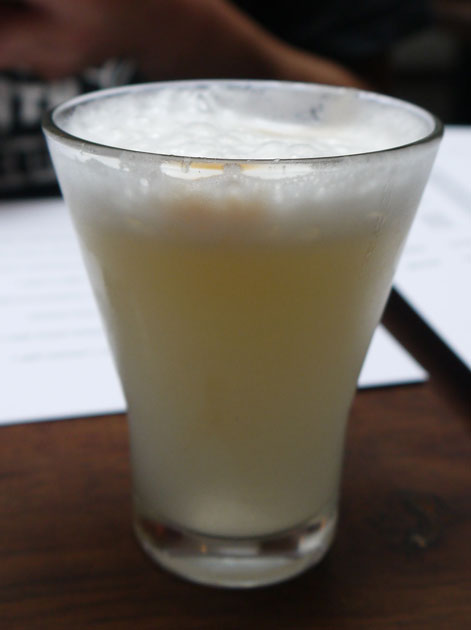 pisco-sour-at-lima rathbone place