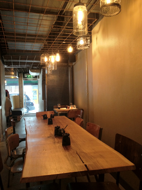 tonkotsu dean street ground floor interior