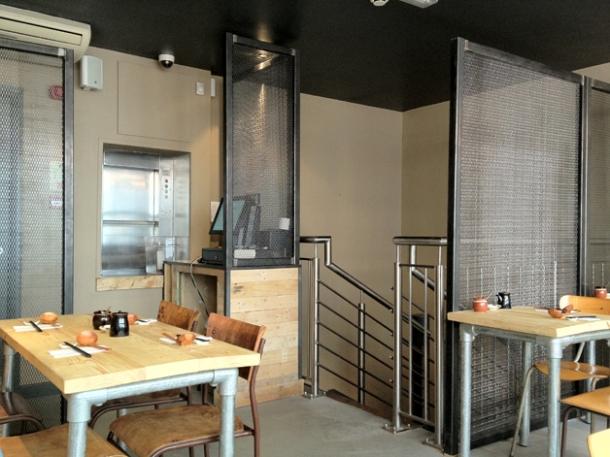 tonkotsu soho first floor decor