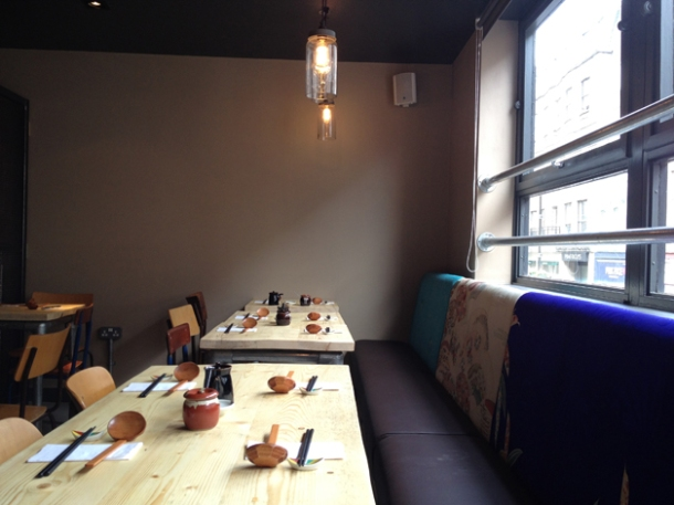 tonkotsu soho first floor interior
