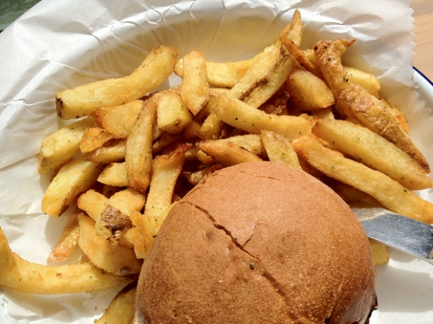 honest burgers soho chips