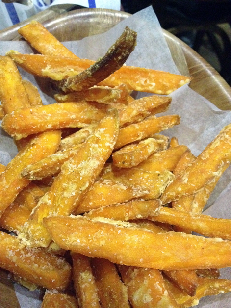 kua'aina sweet potato wedges