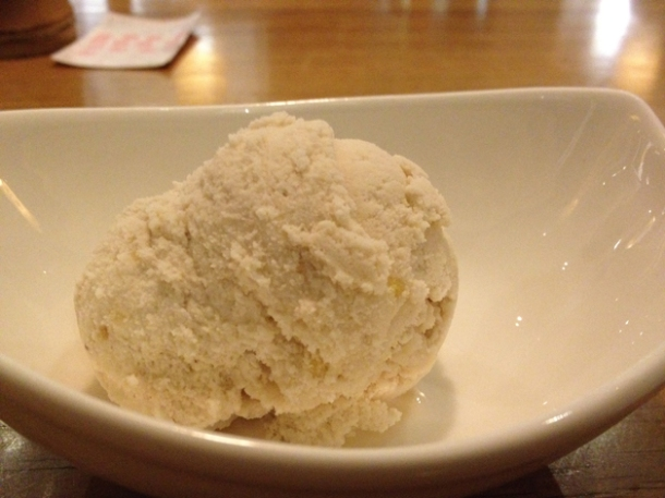 chestnut ice cream at toku