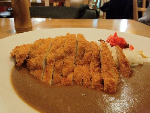 chicken katsu curry at toku