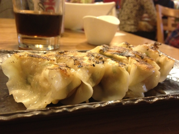 japanese dumplings at toku
