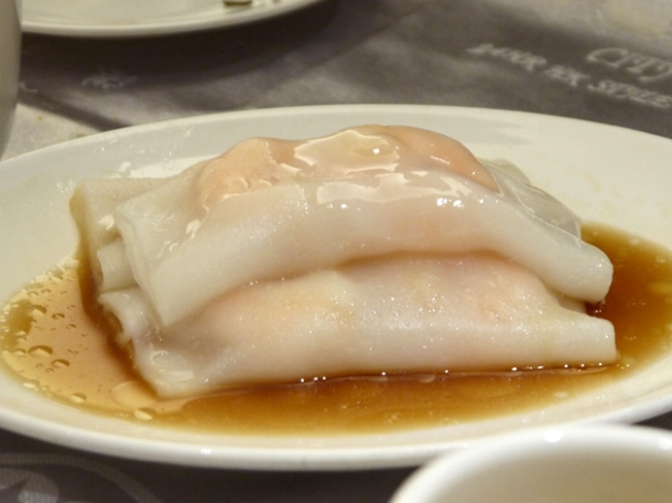prawn cheung fun at citystar taipei