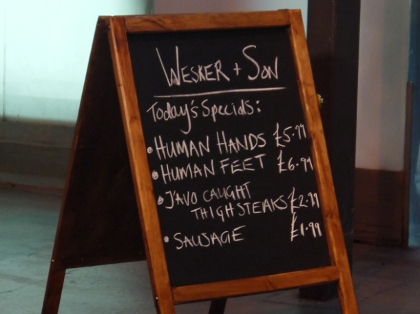 prices at wesker and son pop-up butchers at smithfield market