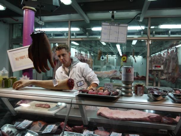 wesker & son human butcher