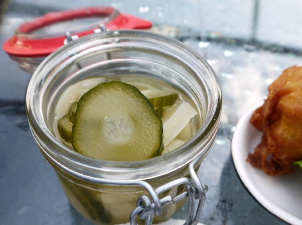 jar of pickles at dach and sons