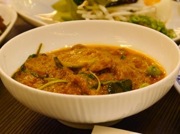 beef curry at naamyaa cafe