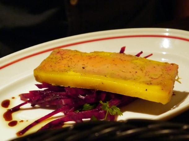 foie gras terrine at mash