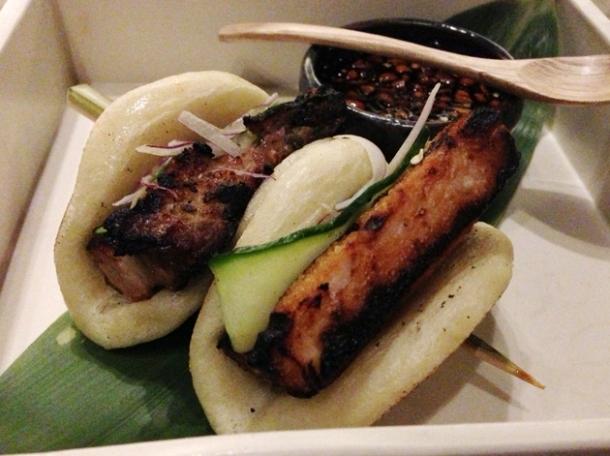 barbecue pork buns at wabi