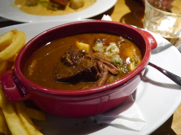 beef cabonnade stew at belgo centraal