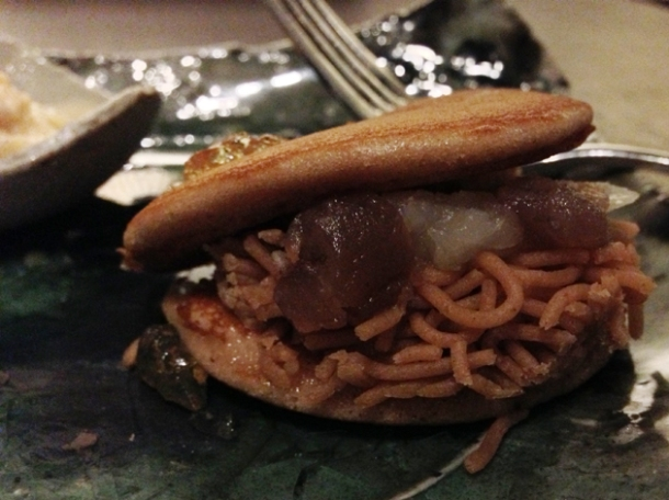 chestnut dorayaki at wabi
