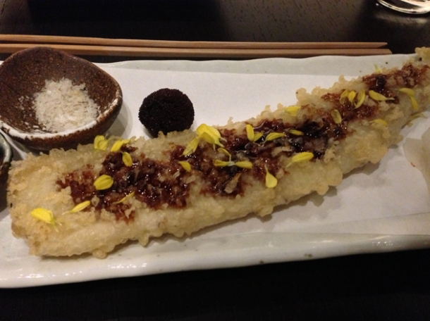 anago tempura at wabi