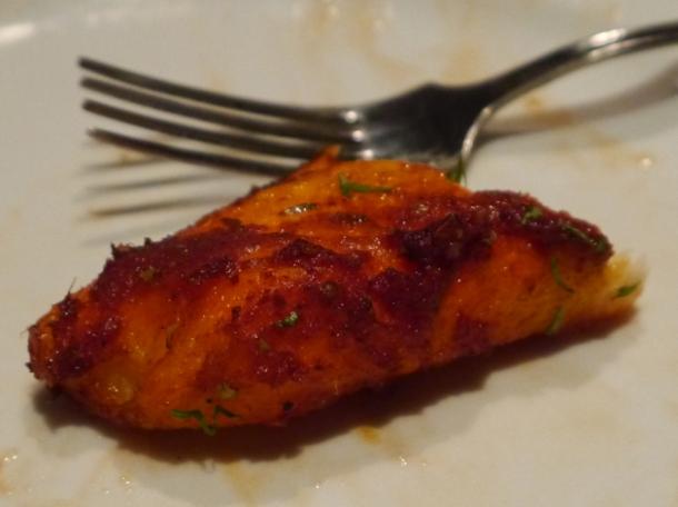 masala fish at malibu club