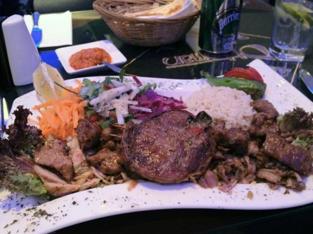 mix kebab 2 at ottoman hammersmith
