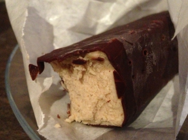 peanut butter choc ice at patty and bun