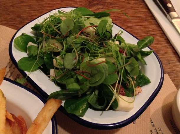 sophie's salad at flat iron