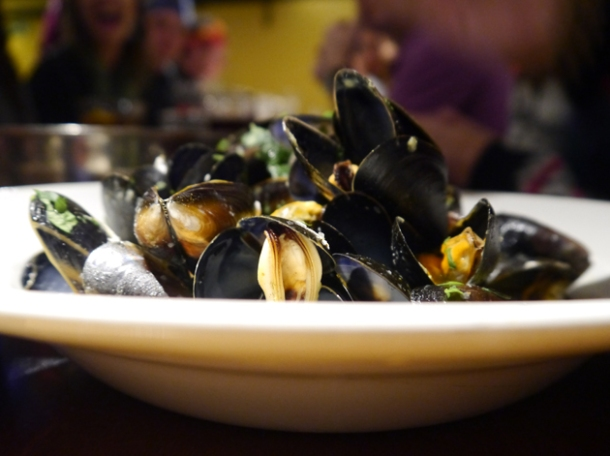 thai style moules at belgo centraal