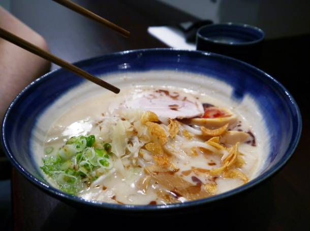 tonkotsu ramen at bone daddies