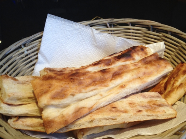 turkish bread at ottoman hammersmith