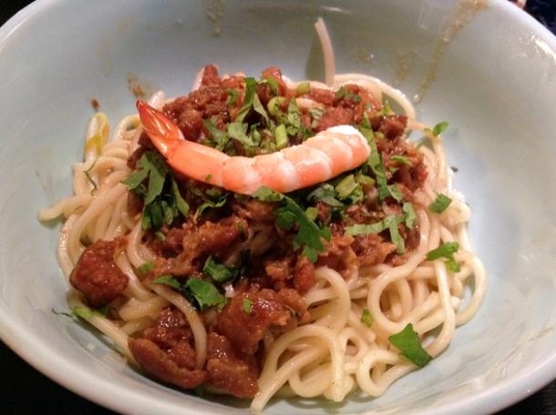 danzi noodles at tu hsiao yueh