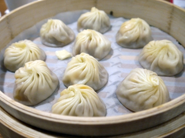 fish and vegetable xiaolongbao at din tai fung taipei 101