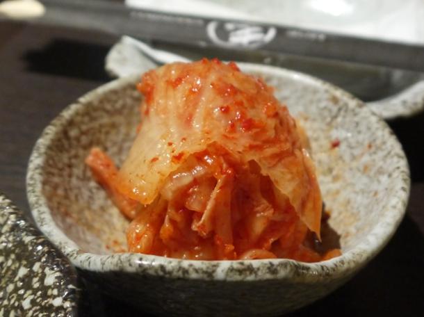 kimchee at moe yakiniku taipei