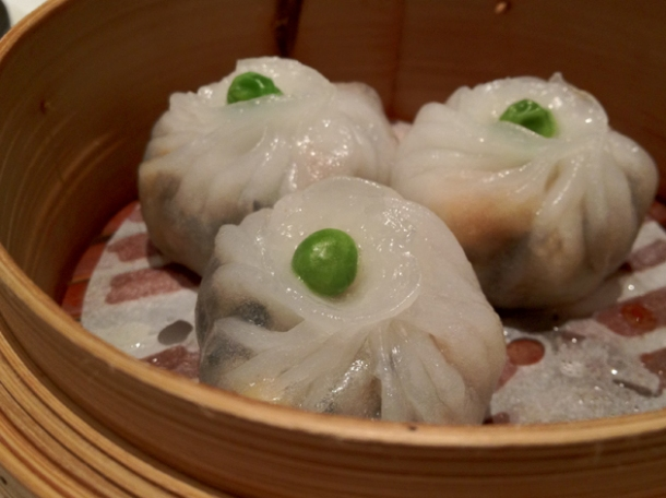 monks vegetables dumplings at pearl liang