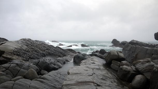 sanxiantai rocks taiwan