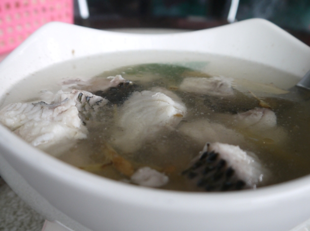 taiwan mountain village fish soup
