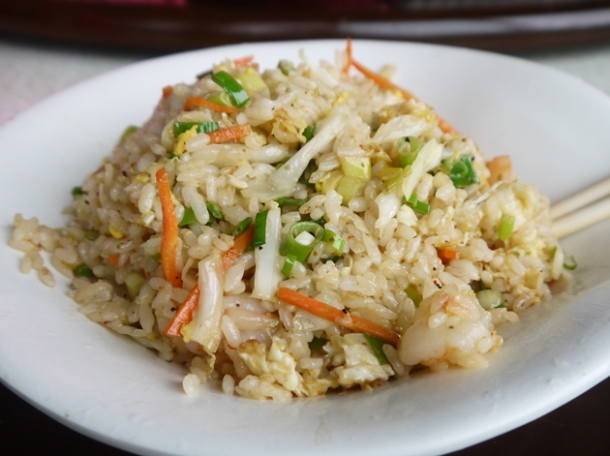taiwan mountain village fried rice