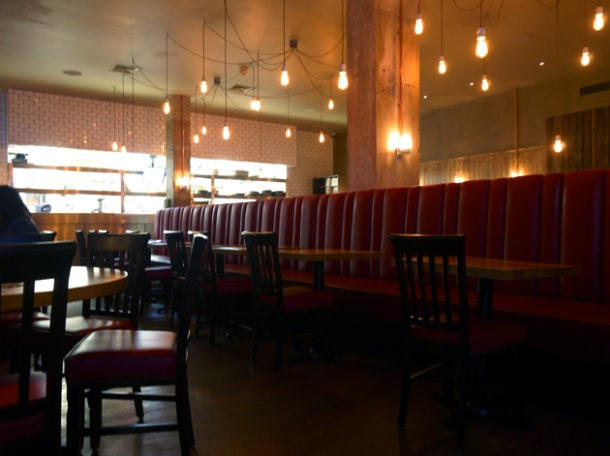 interior burger and lobster soho