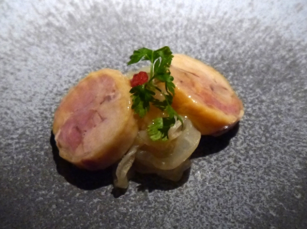 drunked chicken and jelly fish at hkk