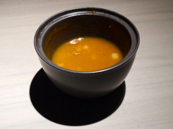 goji berry and hawthorn soup at hkk