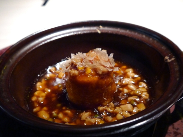 tofu hotpot at hkk