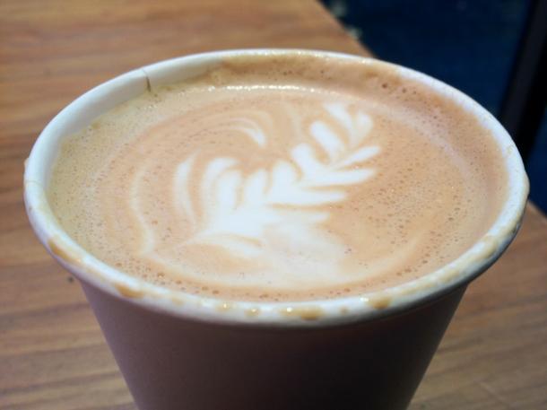 bermondsey street coffee flat white