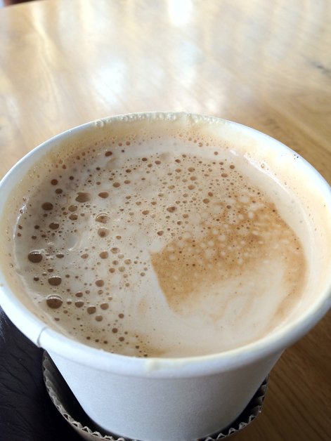 caffe paradiso flat white